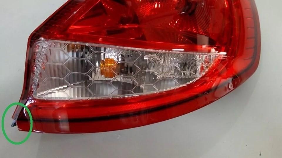 Lanterna Traseira New Fiesta Hatch Ae8313b504 Lado Direito