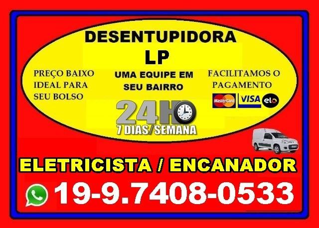 Desentupidora em Campinas 24 Horas 97408-0533