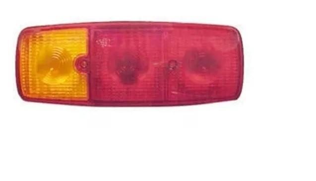 Lente Lanterna Traseira Caminhão Mb 1313 1315 1519