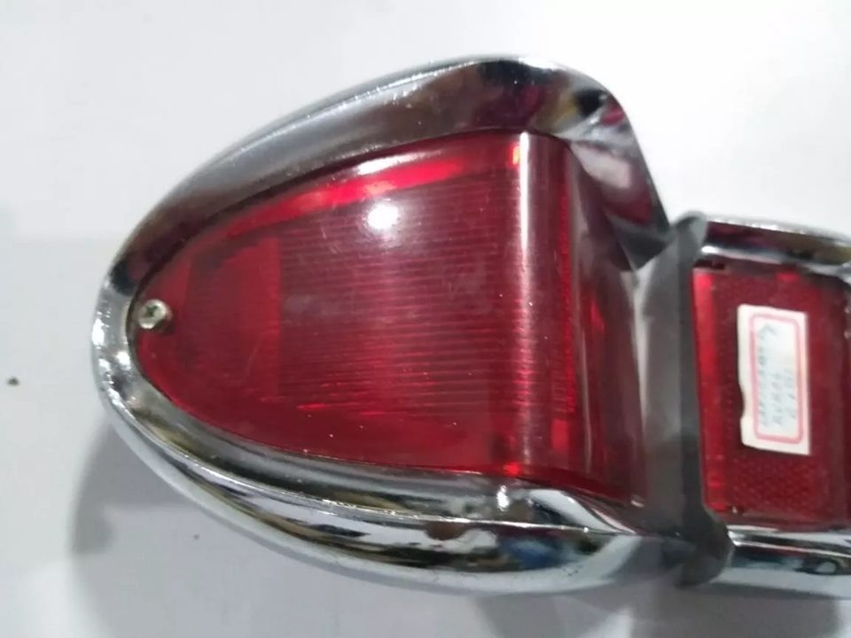 Par Lanterna Traseira Rural E Pick-up F75 Willys Ford