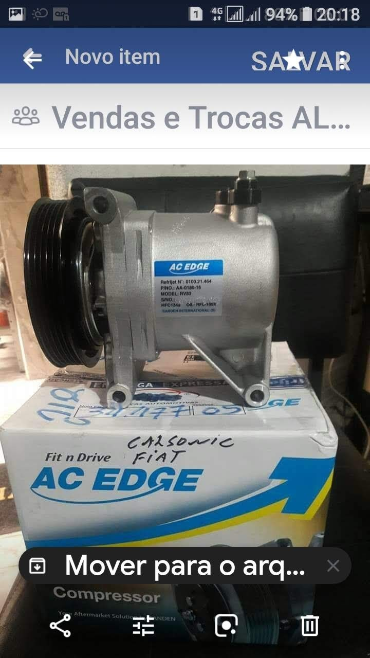 Compressores de ar condicionado automotivo