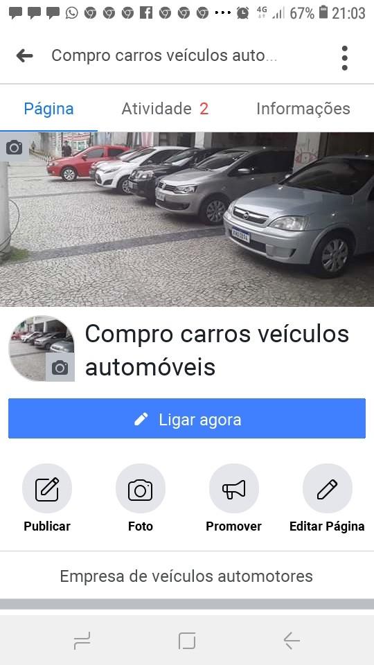 Compro carros veículos automóveis