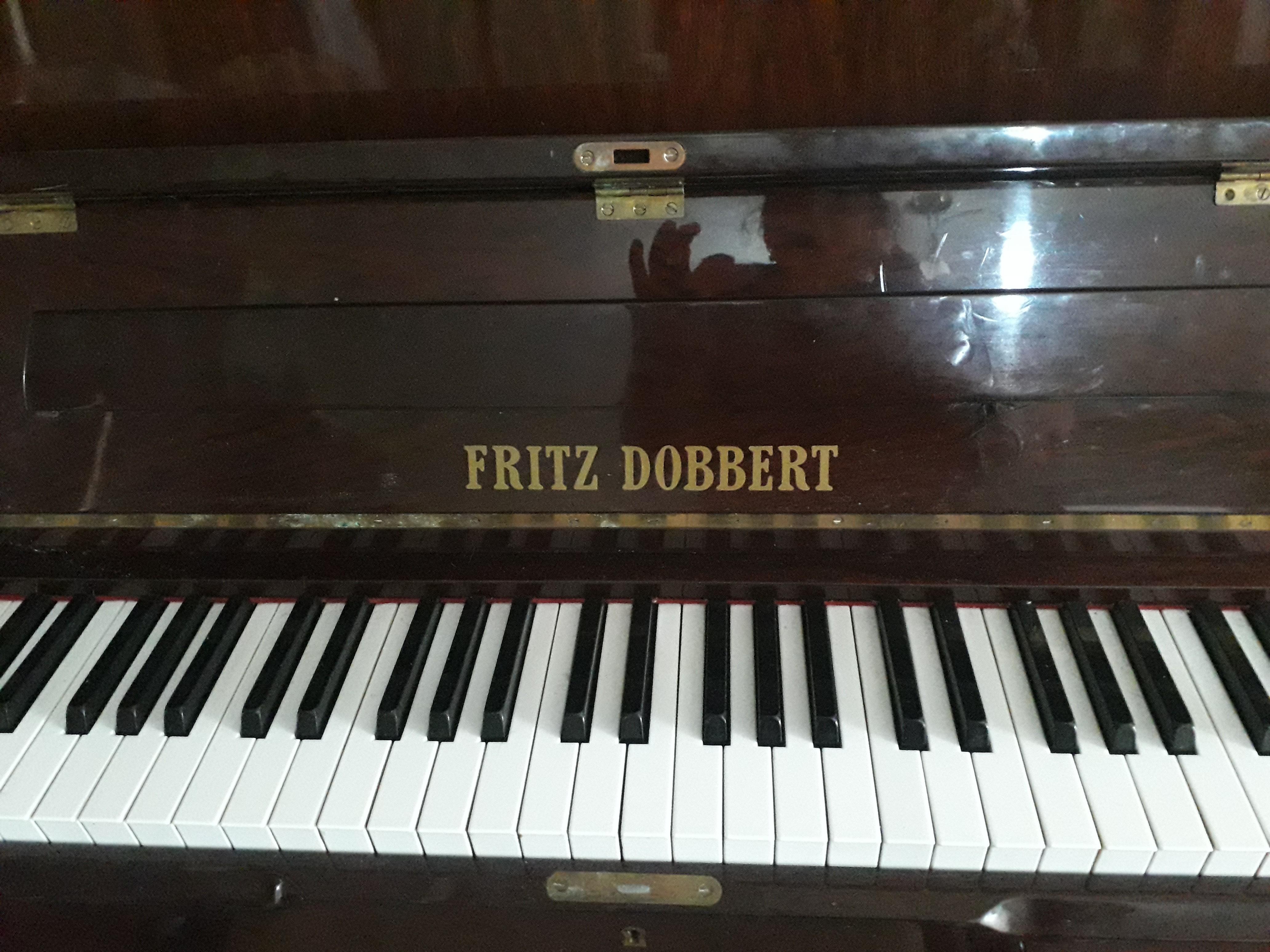 Piano FRITZ DOBBERT VERTICAL 114 imbuia
