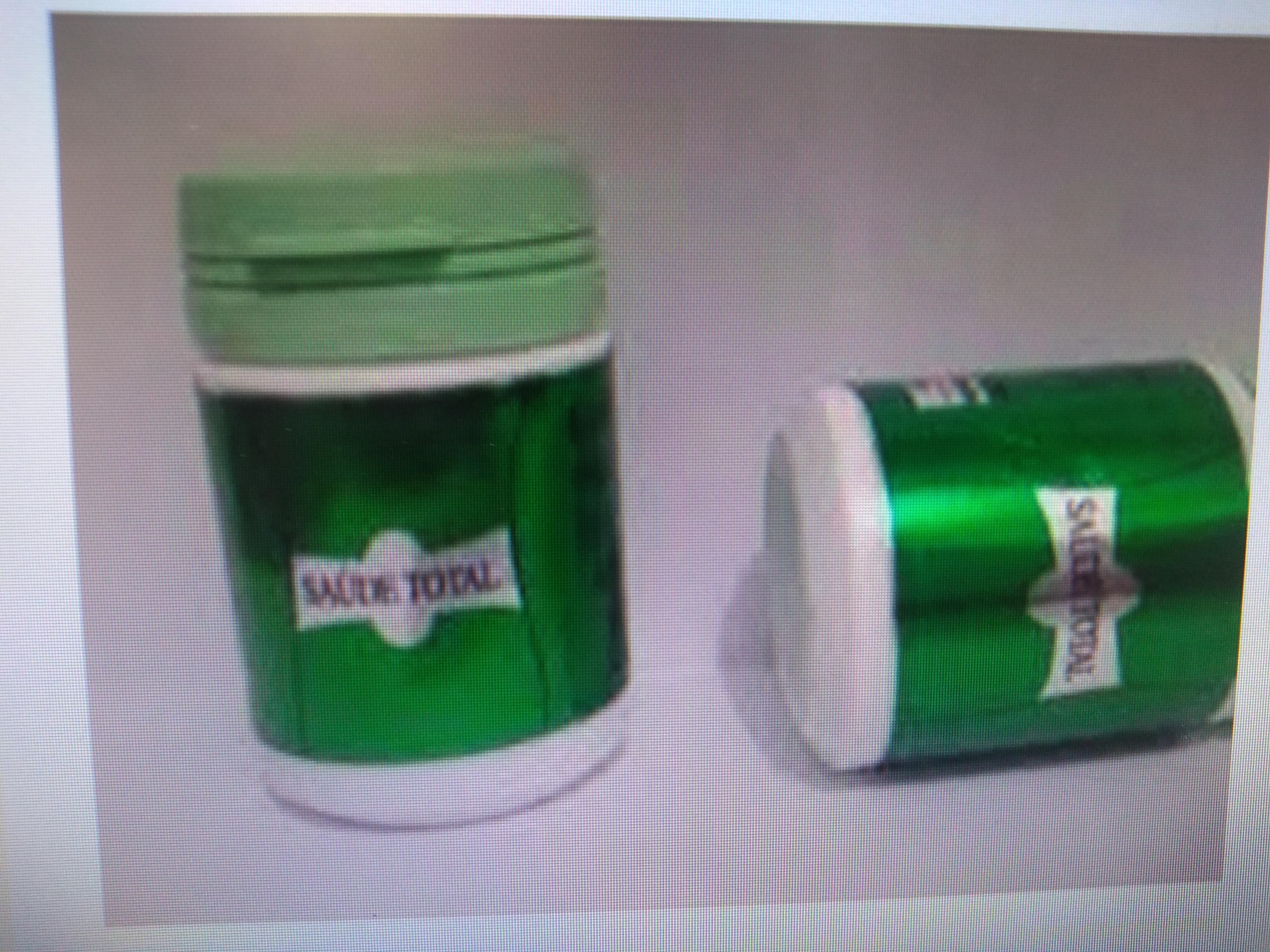 Frasco de Saúde total com 15 cápsulas cada, produto natural que combate dores nas articulações, varizes...