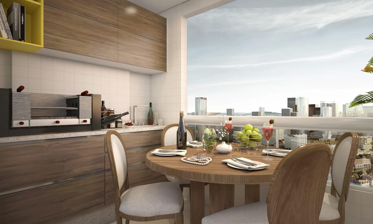 NB03 - Apartamento 2 dorm, sendo 1 suíte com entrega para Outubro/2021