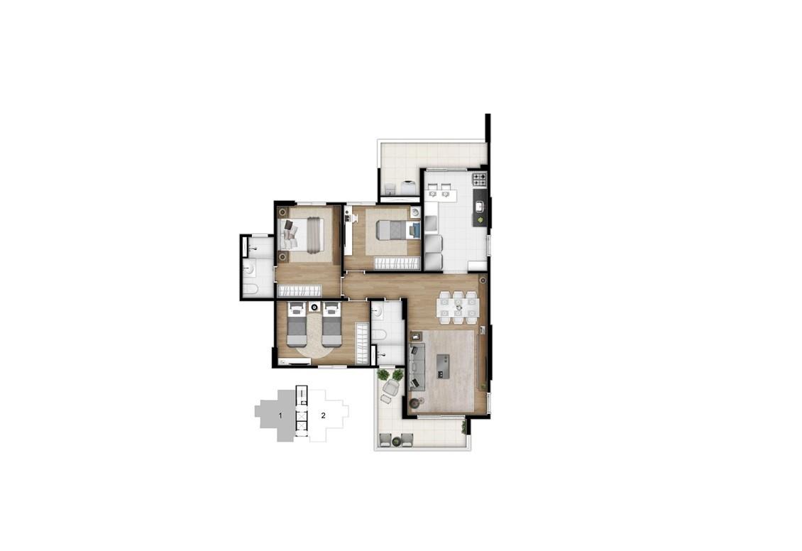 Apartamento Bairro Campestre Santo André
