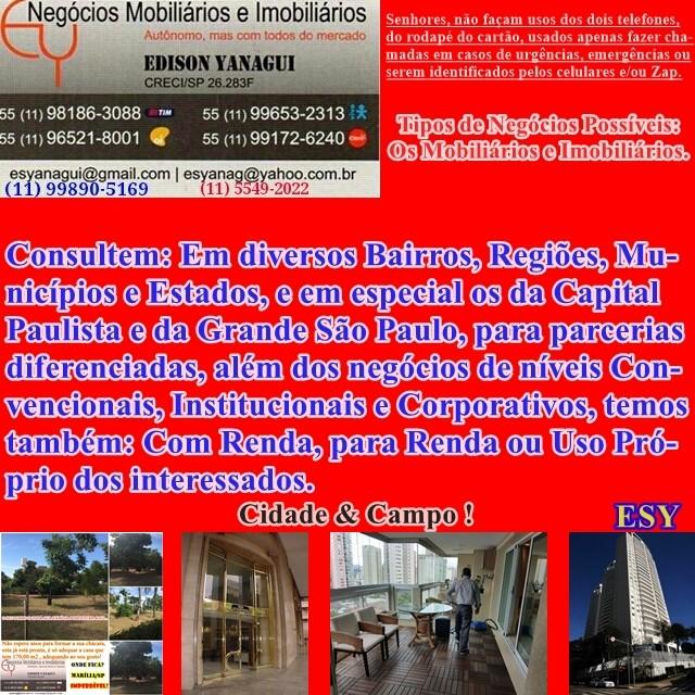 POSSIBILIDADE DE VENDA DE ÁREA SUPERIOR A 6.000 M2., NO ALTO DE SANTANA.