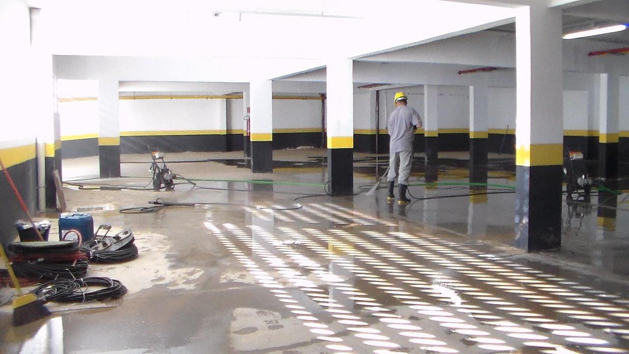 Jundiaí e região || Limpeza de piso industrial