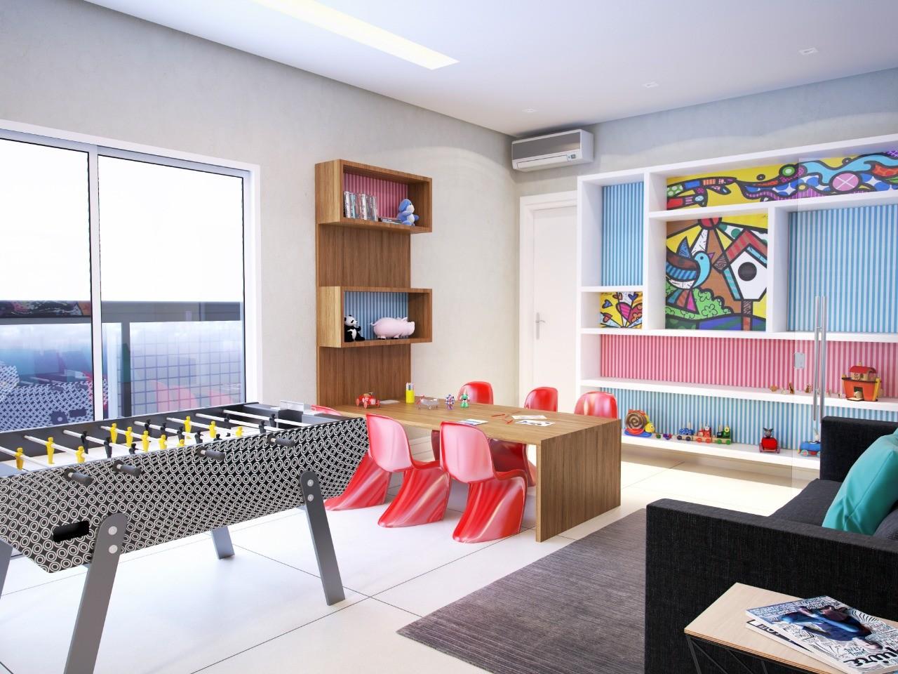 CG37 Lindo e completo Apartamento Ocian