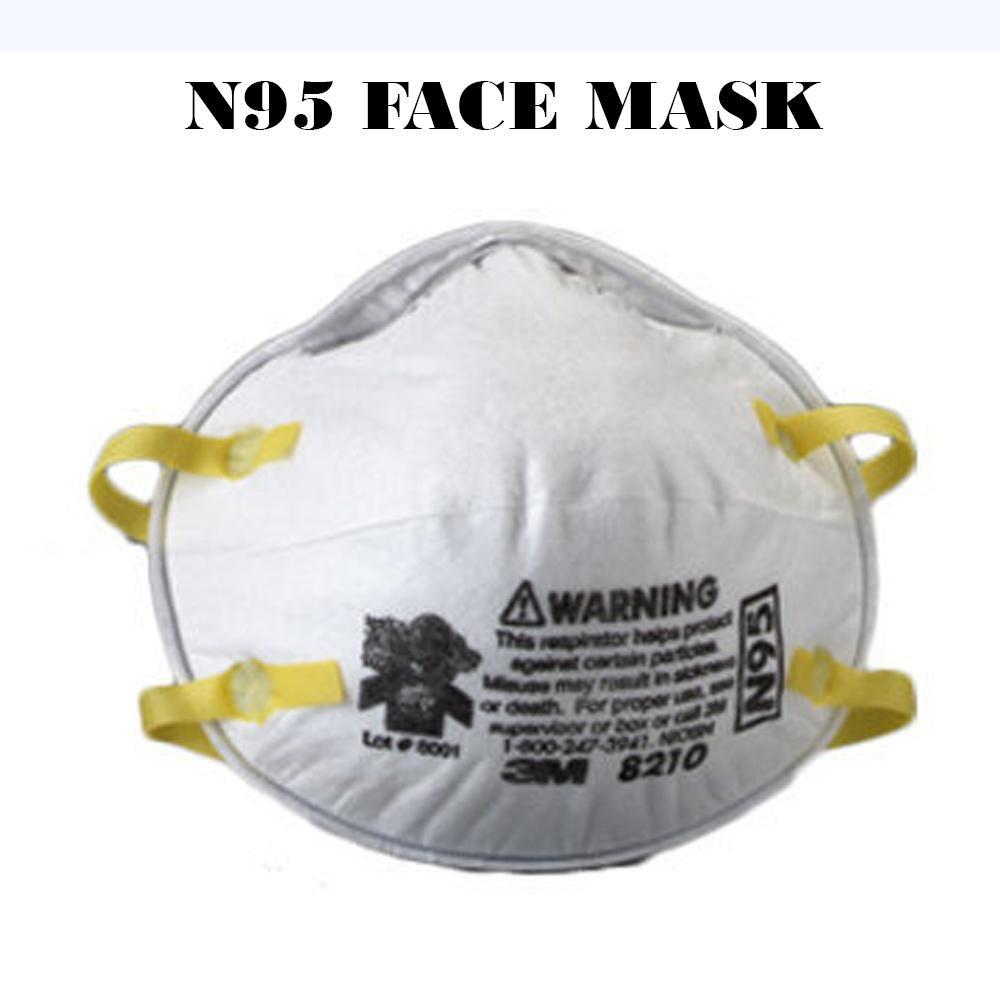 Máscara N95 Respirador aprovado pelo NIOSH em forma de copo / liberado pela Food and Drug Administration (FDA) - em estoque - disponível agora para pedido