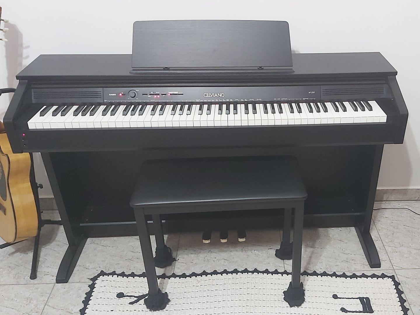 Piano Digital Casio Celviano Ap-250 Preto