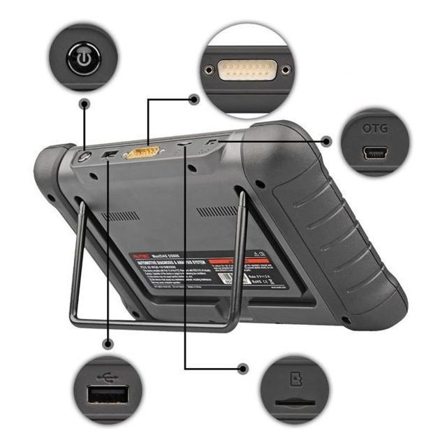 Scanner Automotivo Autel MaxiDas DS808