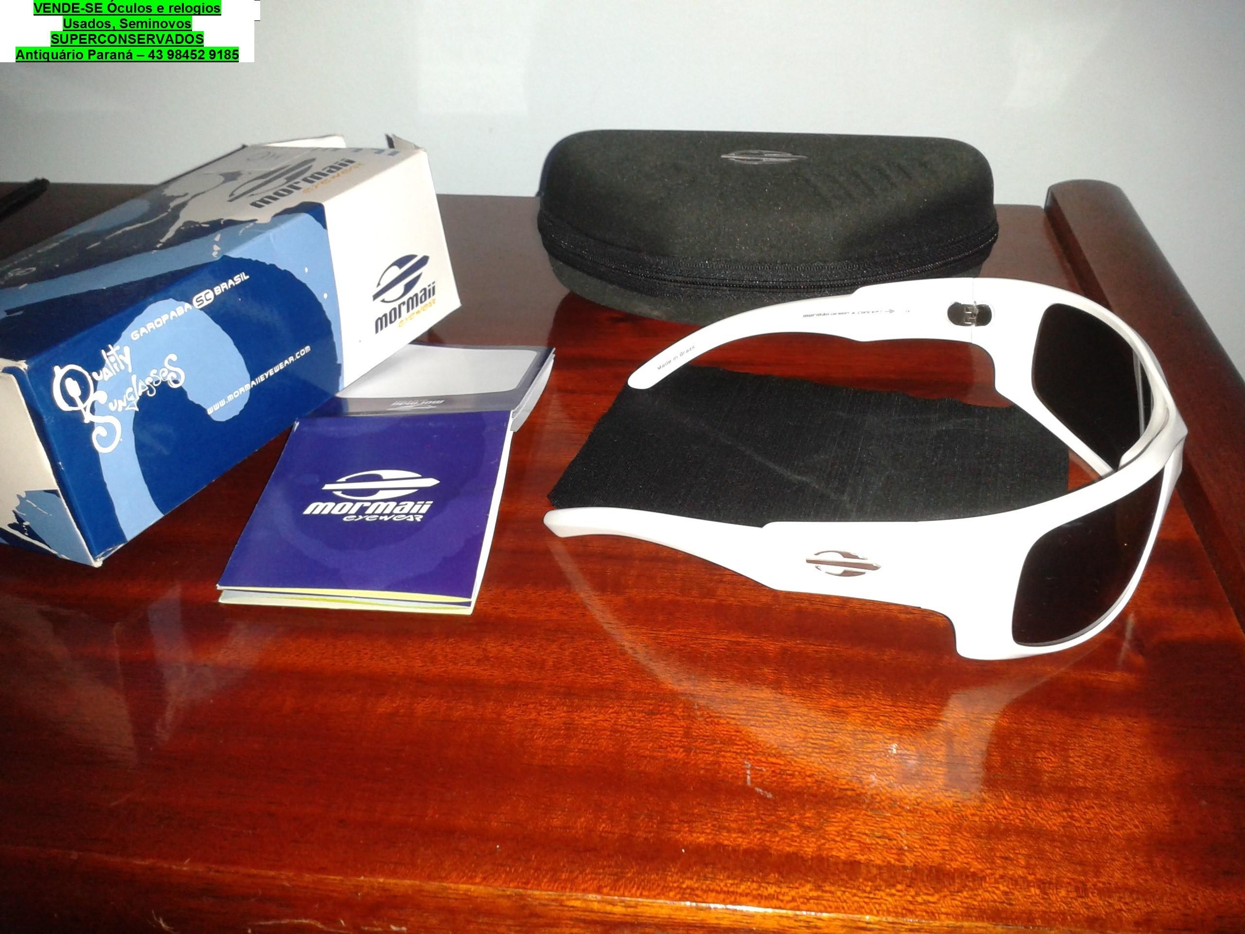 Londrina-oculos e relogios usados a venda
