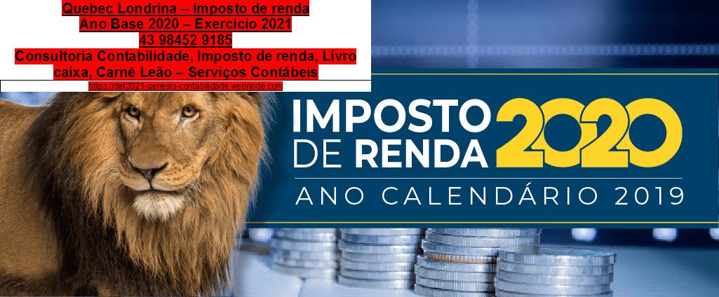 Pitanga-Saulo Turra  - Contador: Comprovação de renda