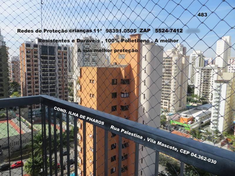Telas de Proteção na Vila Mascote, (11)  5541-8283