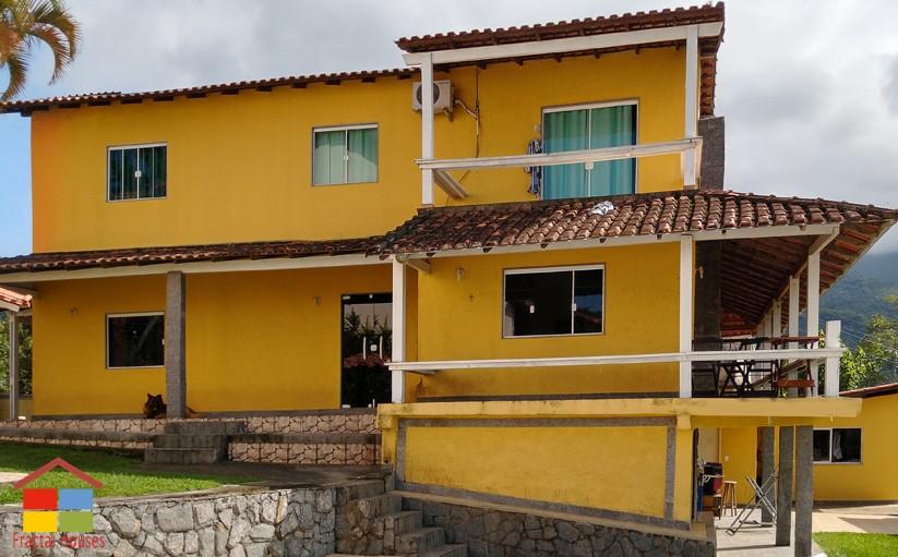 Casa com vista a Ilha Grande e Conceição de Jacareí