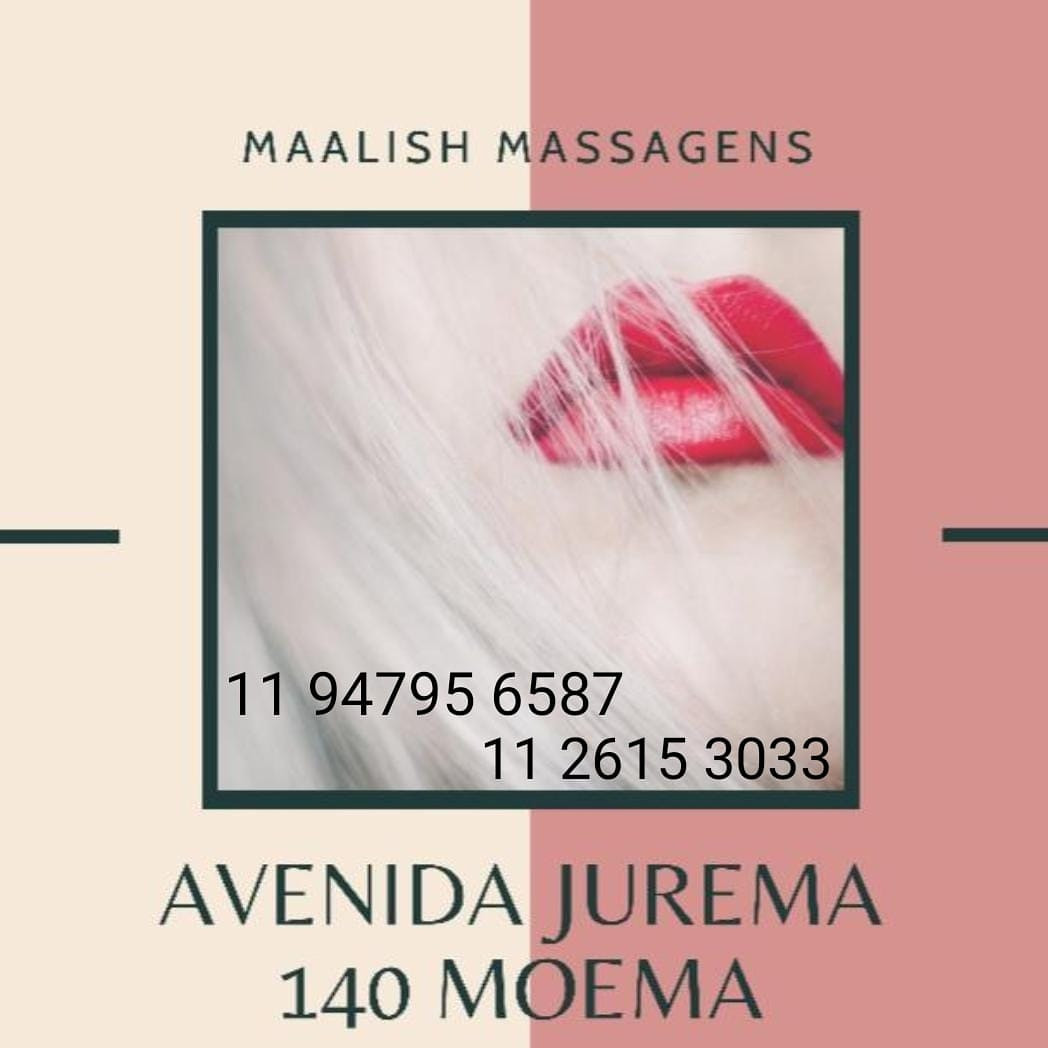 Massagem em Moema Massagistas 24 Horas