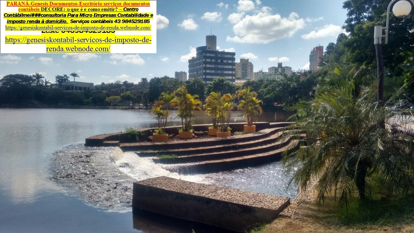 Contabilidade   Imposto de renda  auditoria  – Lerroville - Distrito Londrina Pr
