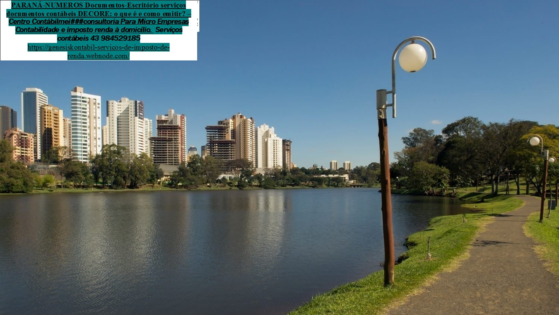 Contabilidade   Imposto de renda  auditoria  - AV Gil de Abreu e Souza – Gleba Fazenda Palhano