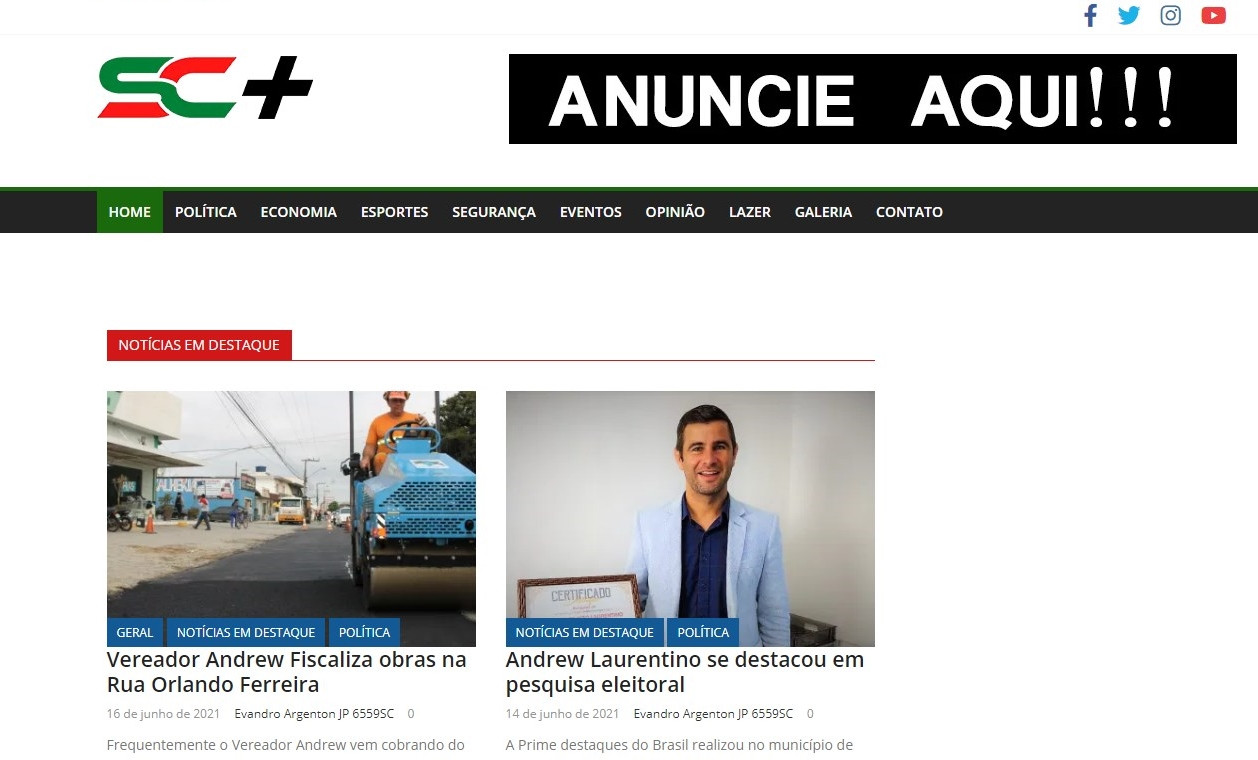 SC Mais - Notícias relevantes de todo Estado de Santa Catarina