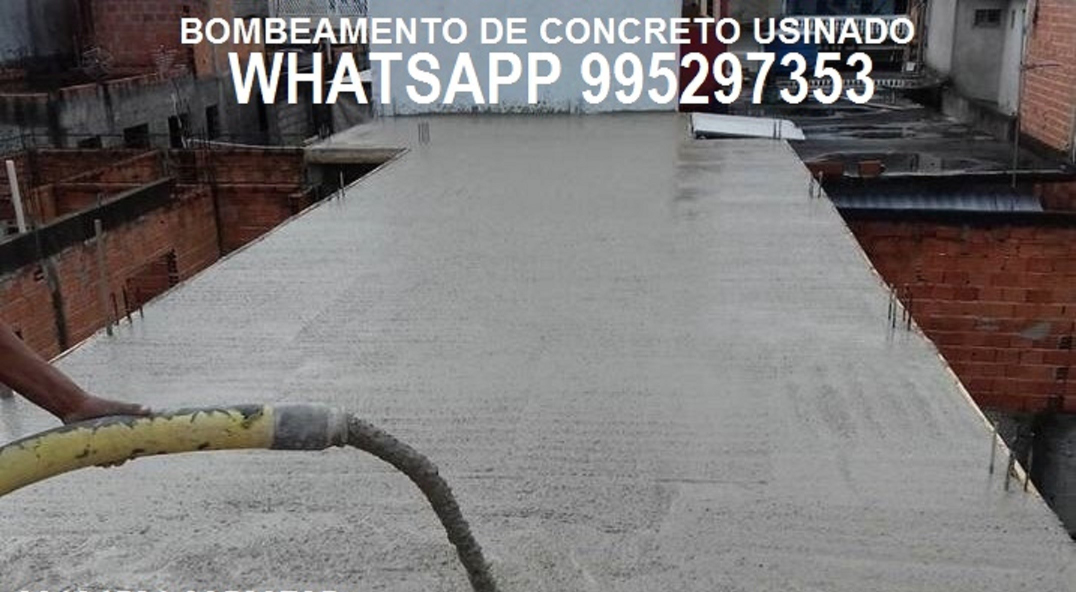 Concreto Bombeado Guaratiba Sepetiba Campo Grande Rio de Janeiro