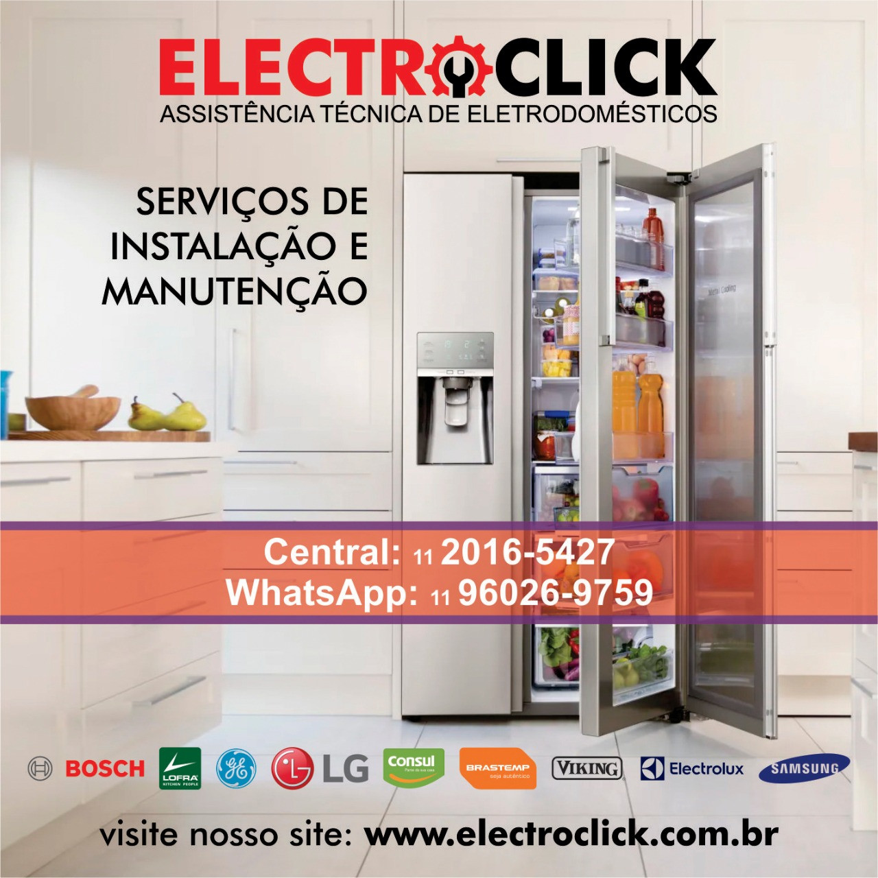 Manutenção para eletrodomésticos em São Paulo