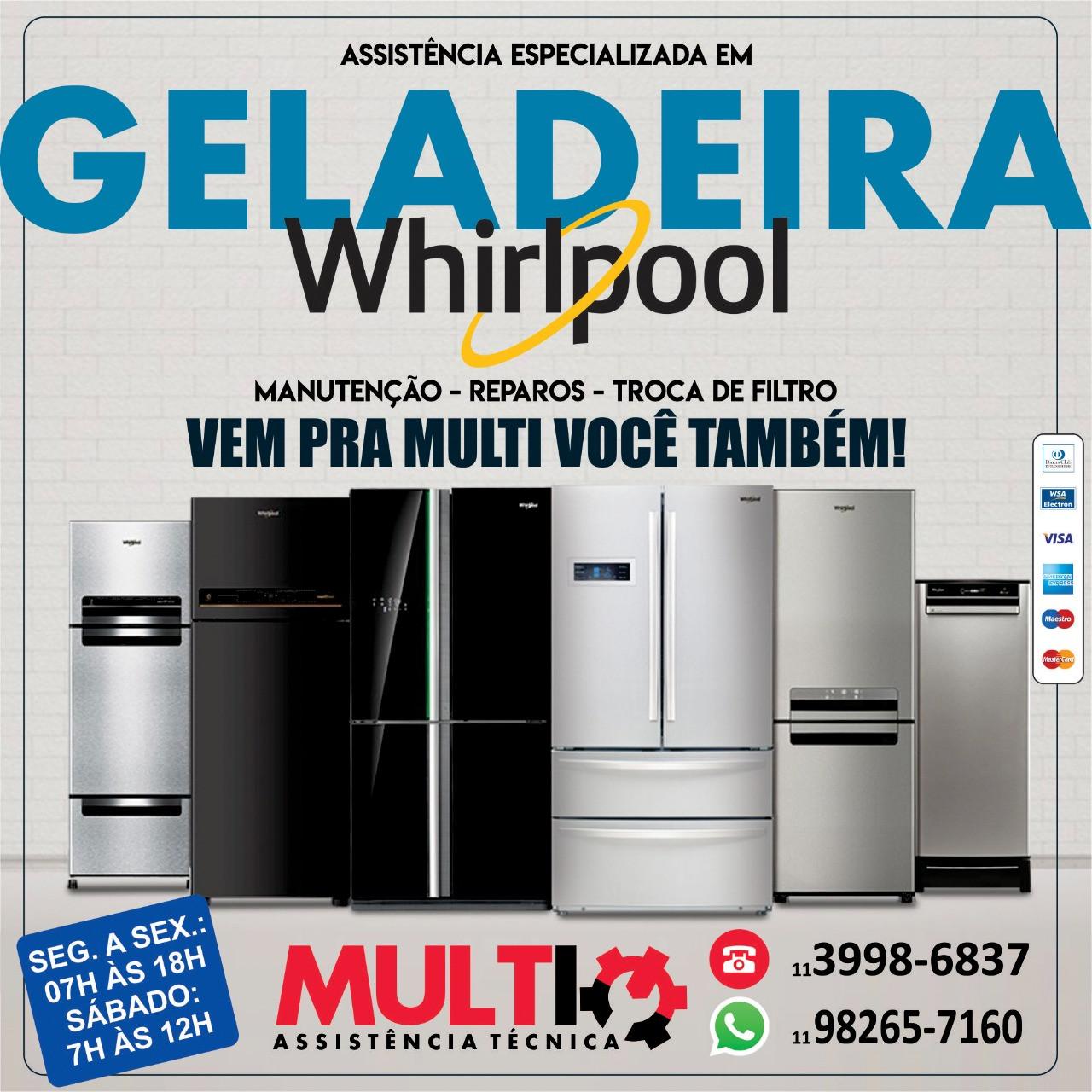 Assistência técnica para geladeiras importadas e nacionais
