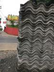 Telha fibro cimento 6 mm ( usada ) 1,83 x 0,92