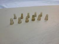 Parafusos plásticos originais