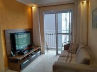 TF1070 - Lindo apartamento com 2 dormitórios na V. Homero Thon. 1 vaga!