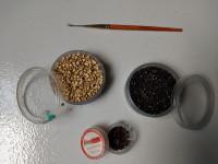 Micro Rings e Agulha para Aplique de Cabelo
