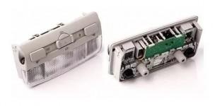 Lanterna De Teto Com Sensor Alarme Gol Saveiro Voyage Fox