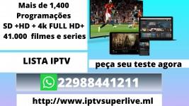 Iptv-lista dos canais/tv box