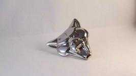 Cara Da Puma Emblema Do Capô Em Metal Cromado