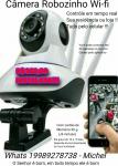 Câmera de Segurança Wi-fi ( câmera + cartao 32 g + instalação completa )