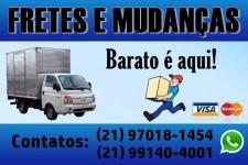 Trabalho com fretes e mudanças em geral para todo Rio de Janeiro e região sudeste do Brasil.