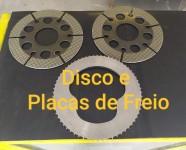 Disco e Placas de Freio