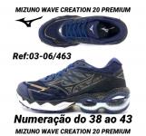 Mizuno creation 20 linha Premium (11)95940-4189 faço em 2 x no cartão