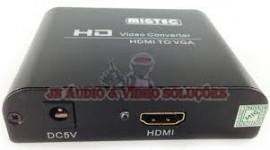 Conversor De Video Hdmi Para Vga+audio Rca Dk002 (c/ Fonte)