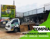 COMPRA DE ESQUADRIAS USADAS EM VILA CARRÃO, VILA FORMOSA, VILA EMA