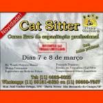 Curso Livre de capacitação profissional Cat Sitter