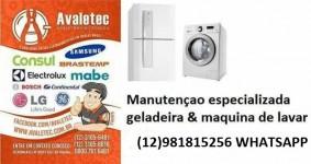 Técnico Geladeira Máquina de Lavar Taubaté