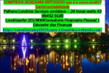 SANFERNANDO*MONTE CARLO/JD.CALIFÓRNIA*CARAVELLE/AEROPORTO# contabilidade IRPF2020