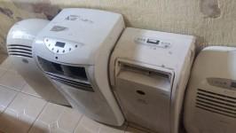 Lote de Ar Condicionado Portátil e Climatizadores