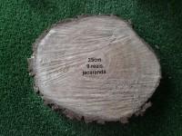 Bolachas rusticas de madeira