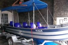 Barco Alumínio Completo