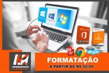 FORMATAÇÃO NOTEBOOK E COMPUTADORES EM CASCAVEL PR