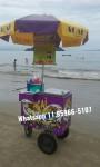 carrinho de açaí praiano