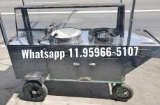 carrinho de pastel tacho eletrico