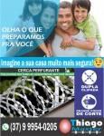 Cerca Perfurante em Itaúna-MG - (37) 9 9954-0205 - Thiago Master